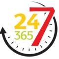 24h los 7 días de la semana los 365 días del año